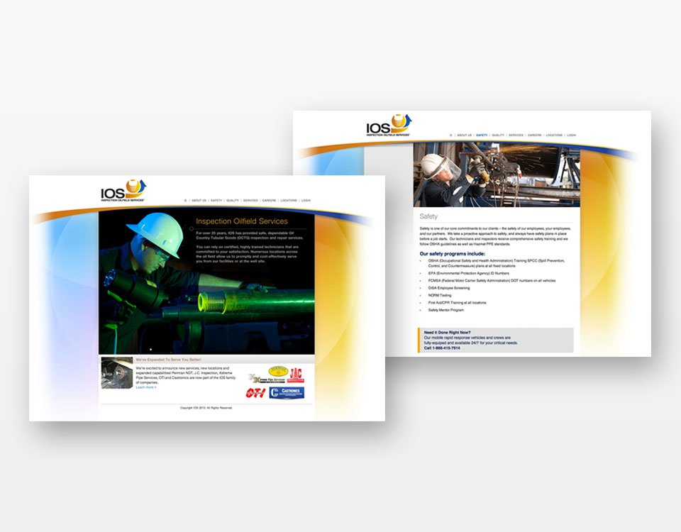 Website Design Service for IOS