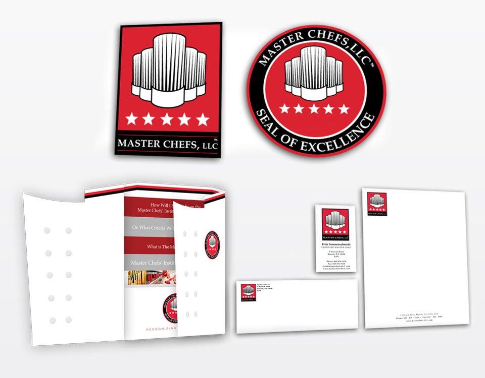 Master chefs corporate identity