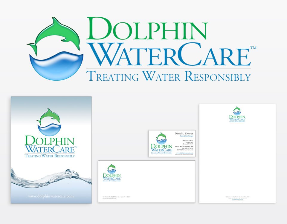 Dolphin corporate identity design