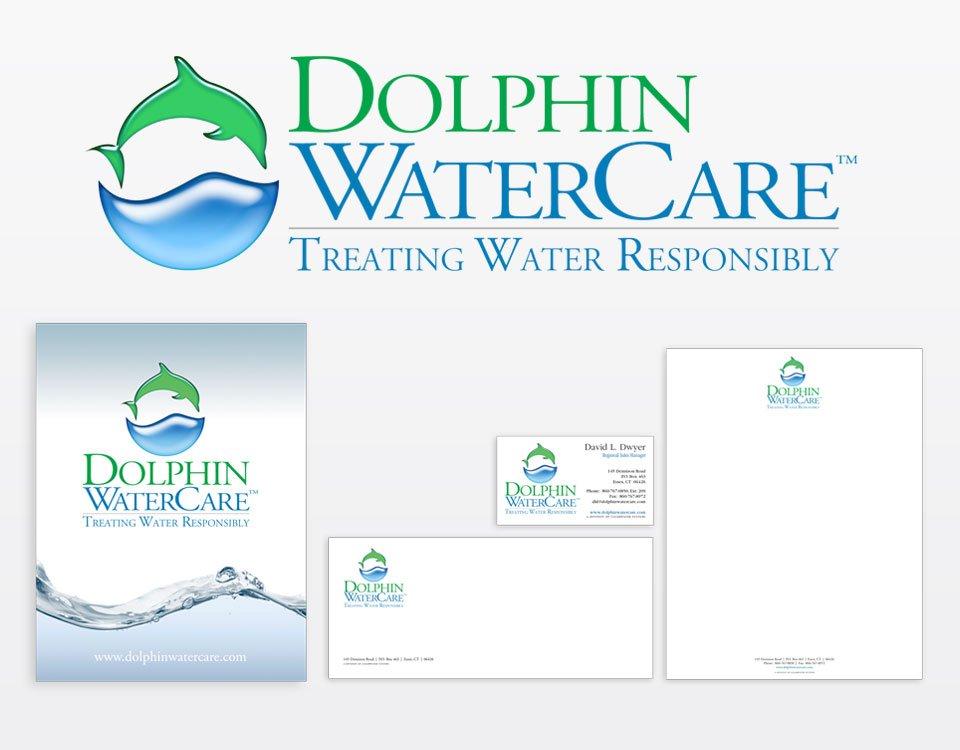 Dolphin corporate identity design