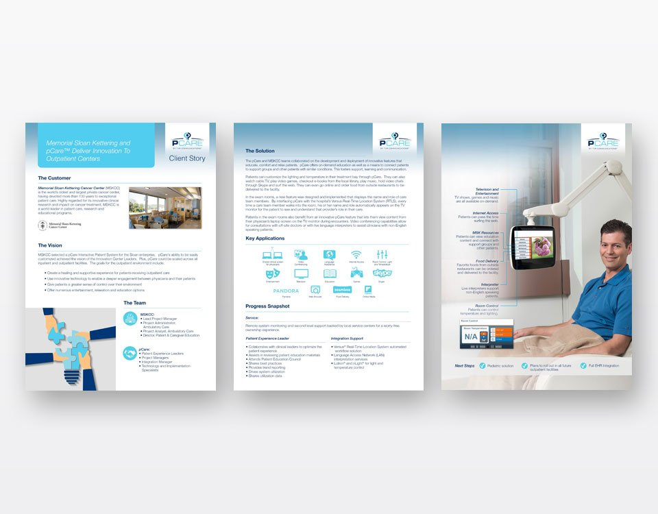 brochures design pcare
