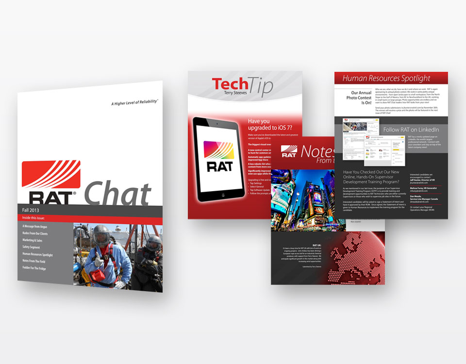 Brochures Design for RAT
