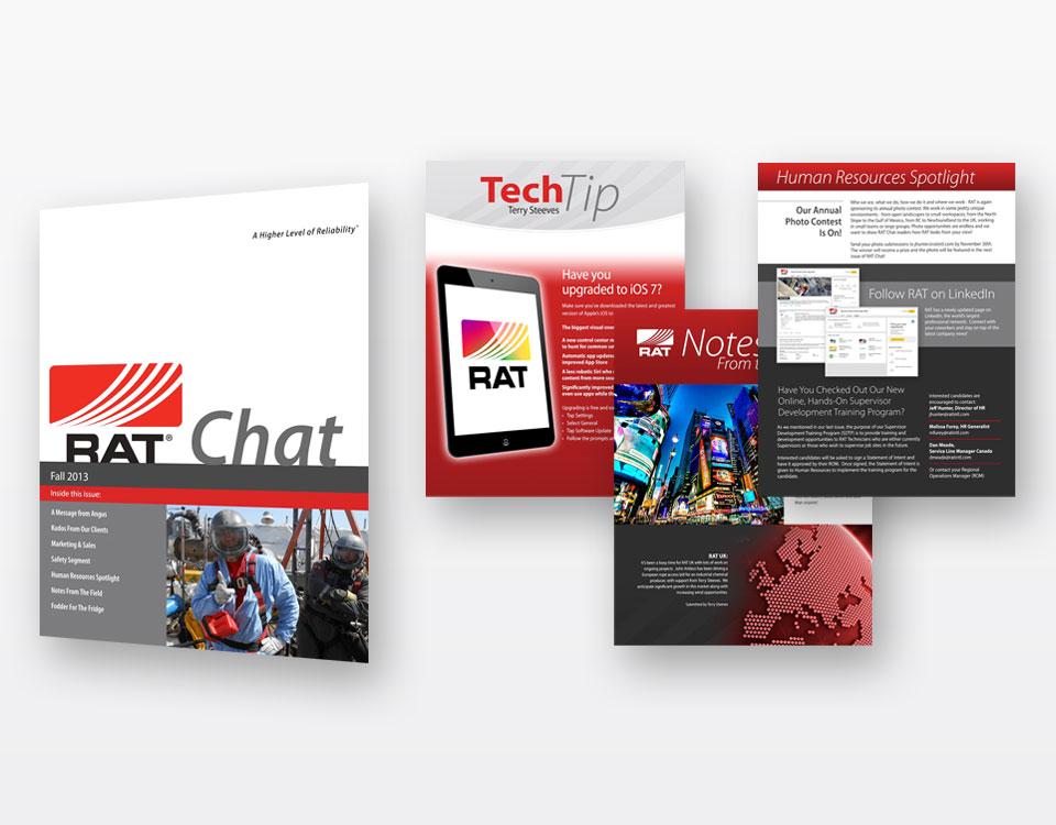 Brochures Design for RAT