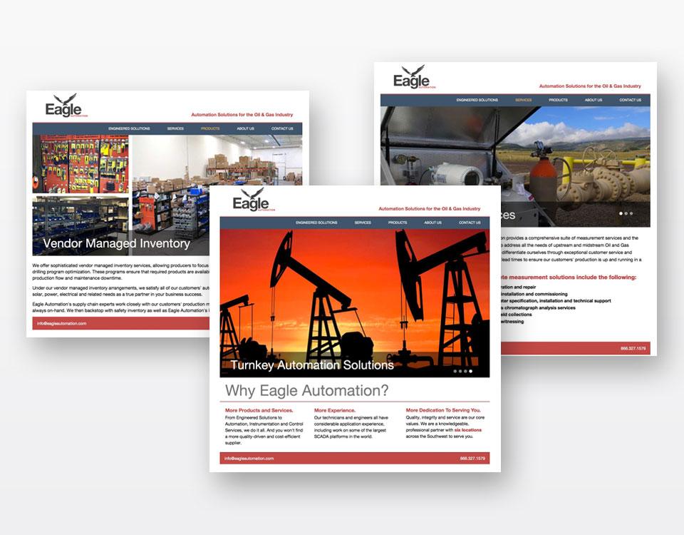 eagle - website - design