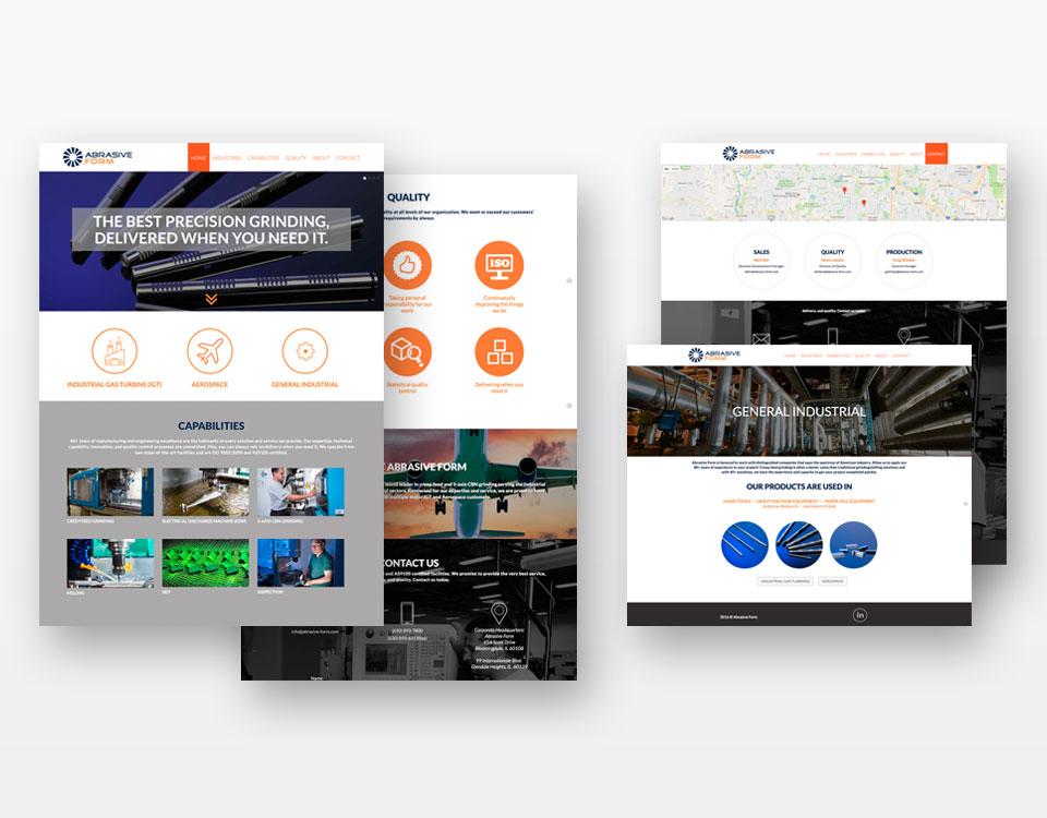 web design-abrasive